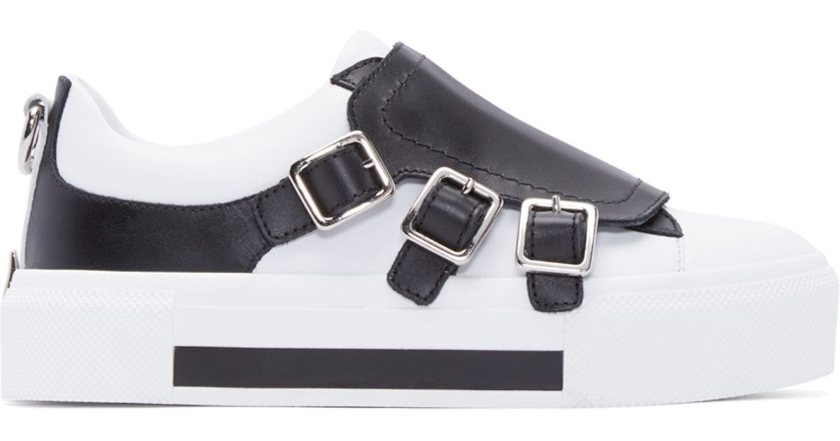 Alexander Sneakers In Buckle Colorblock White Mcqueen Lyst aRqzR