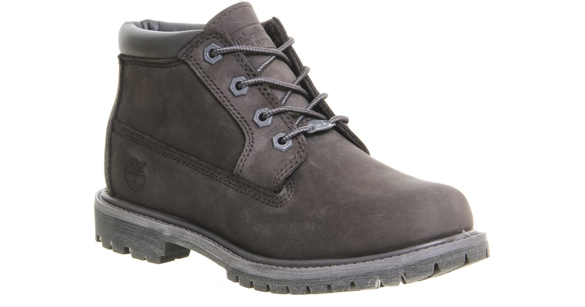 Timberland Nellie Chukka Double Waterproof Boots In Gray