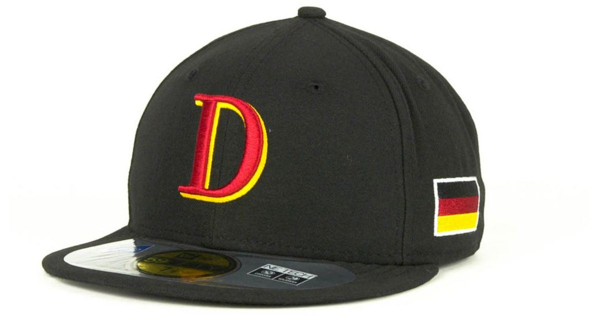f3690e0ab68 Lyst - KTZ Germany 2013 World Baseball Classic 59fifty Cap in Black for Men