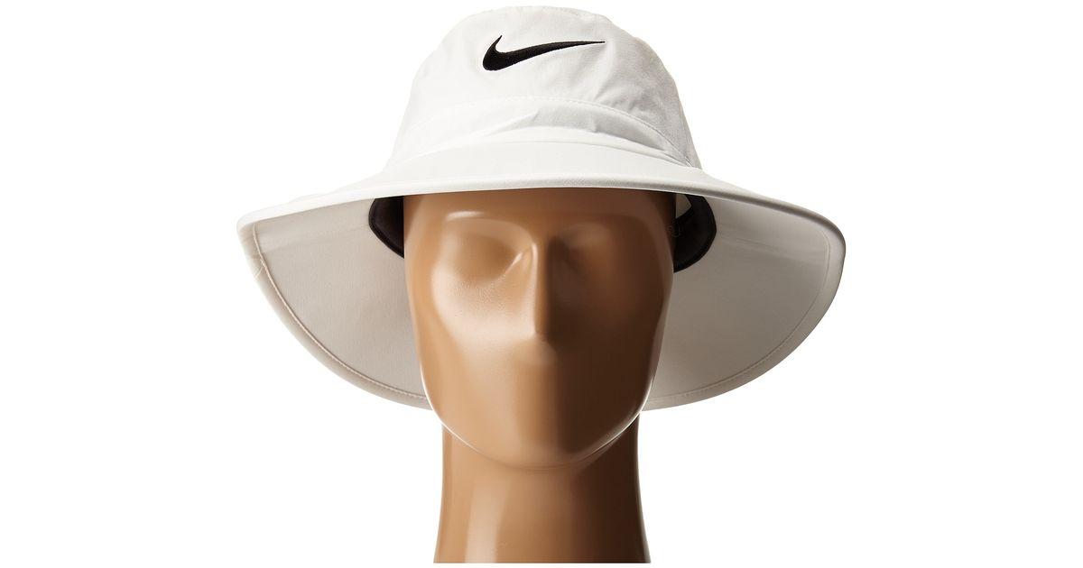 b345969f687 Lyst - Nike Sun Protect Bucket Cap in White for Men