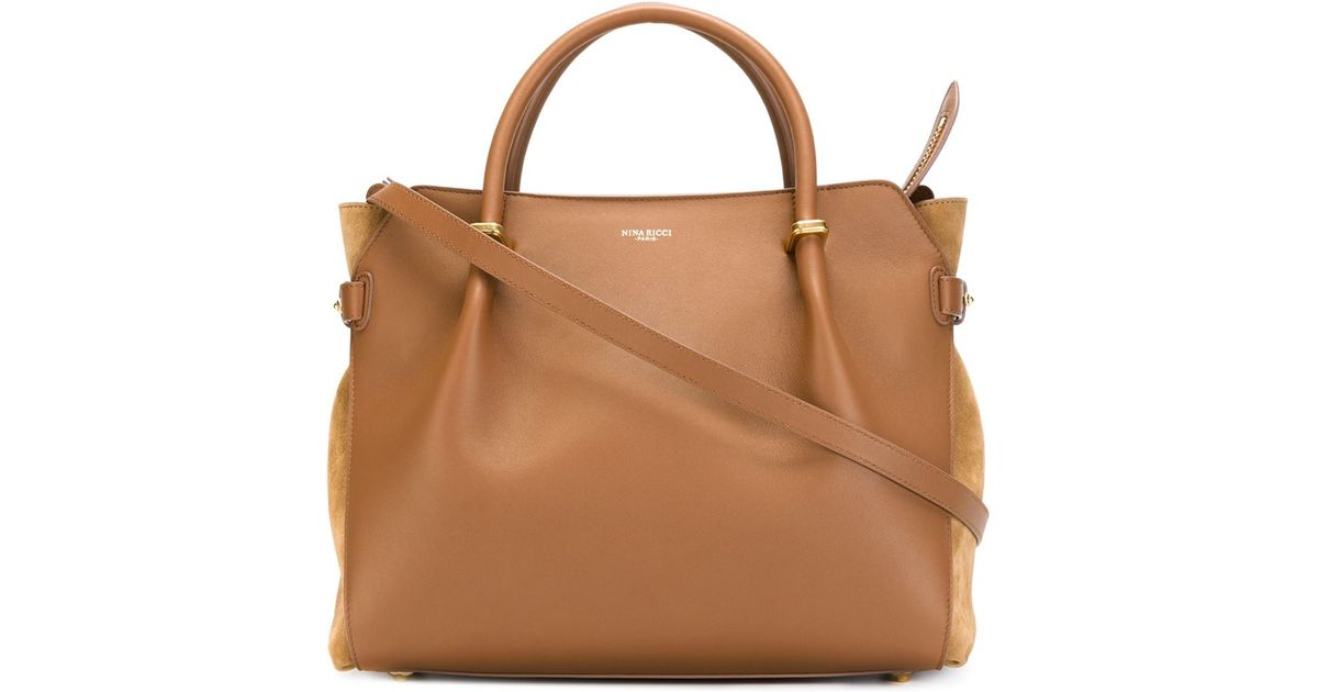 1953d4dd1c Lyst - Nina Ricci  marché  Tote Bag in Brown