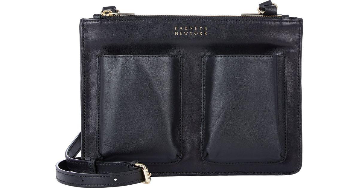 Womens Hannah Metallic Leather Crossbody Bag Barneys New York ZaBIKRApq