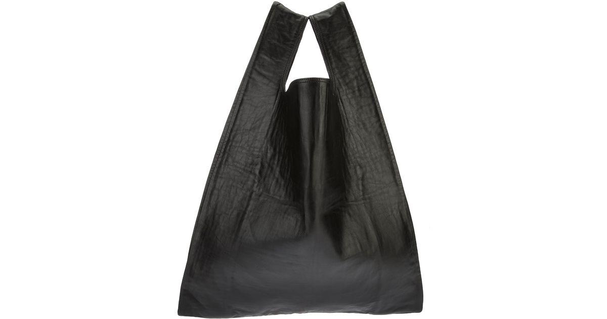 07617692b0420 Lyst - MM6 by Maison Martin Margiela Tote Bag in Black
