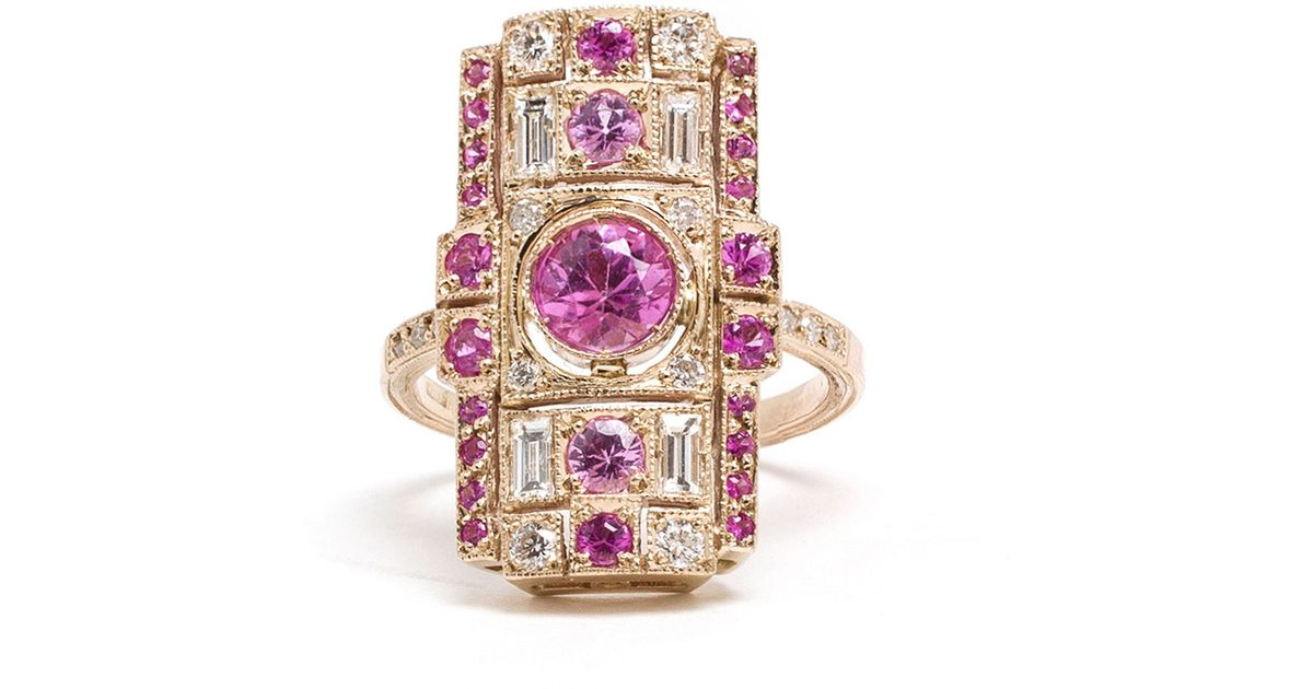 cushion jewelers promise ring other box halo diamond available engagement center request upon rose stone rectangle love carrie morganite and rosados gold