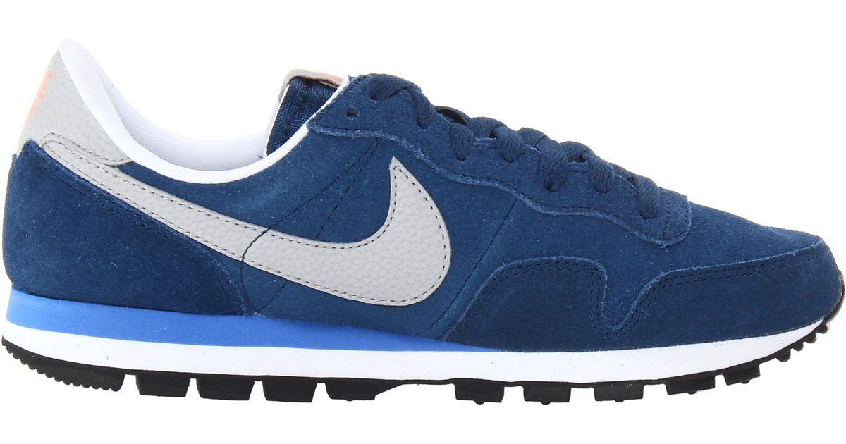 f9a2e208a79cc ... australia lyst nike air pegasus 83 leather in blue for men 767ca 66b1f