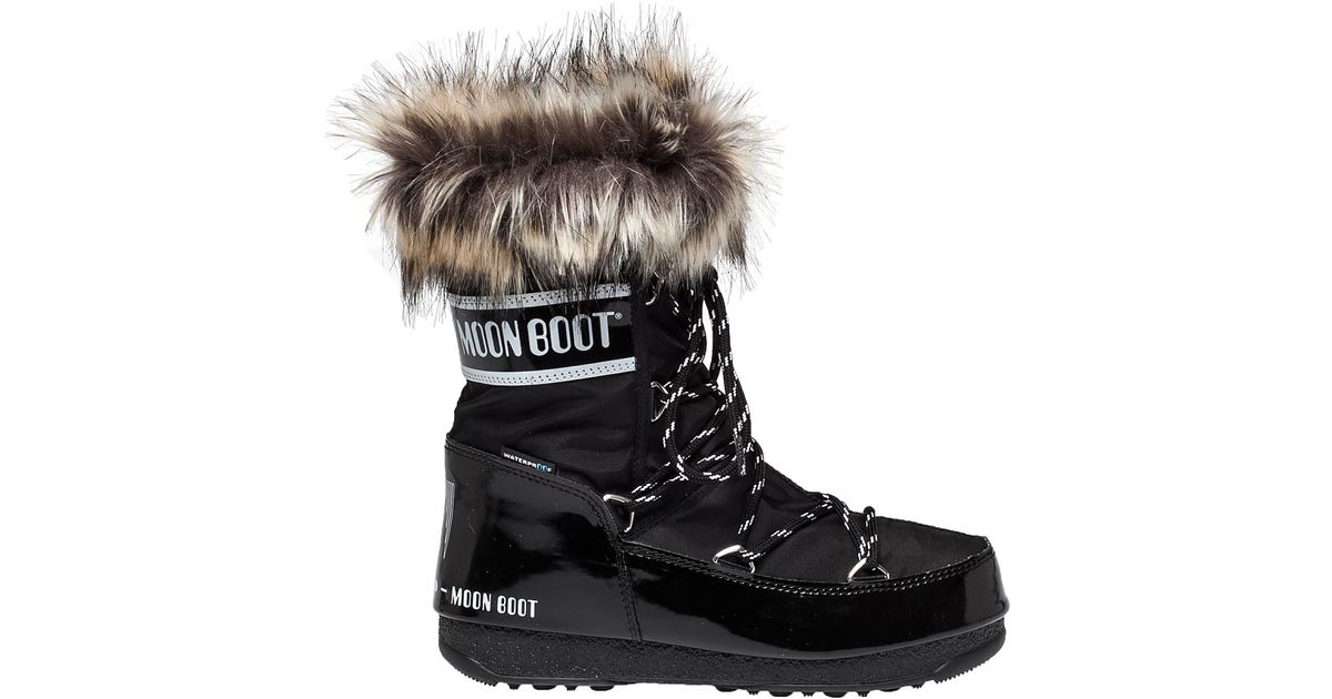 Moon Boot Nous Bottines Monaco Faible Wp b63HK