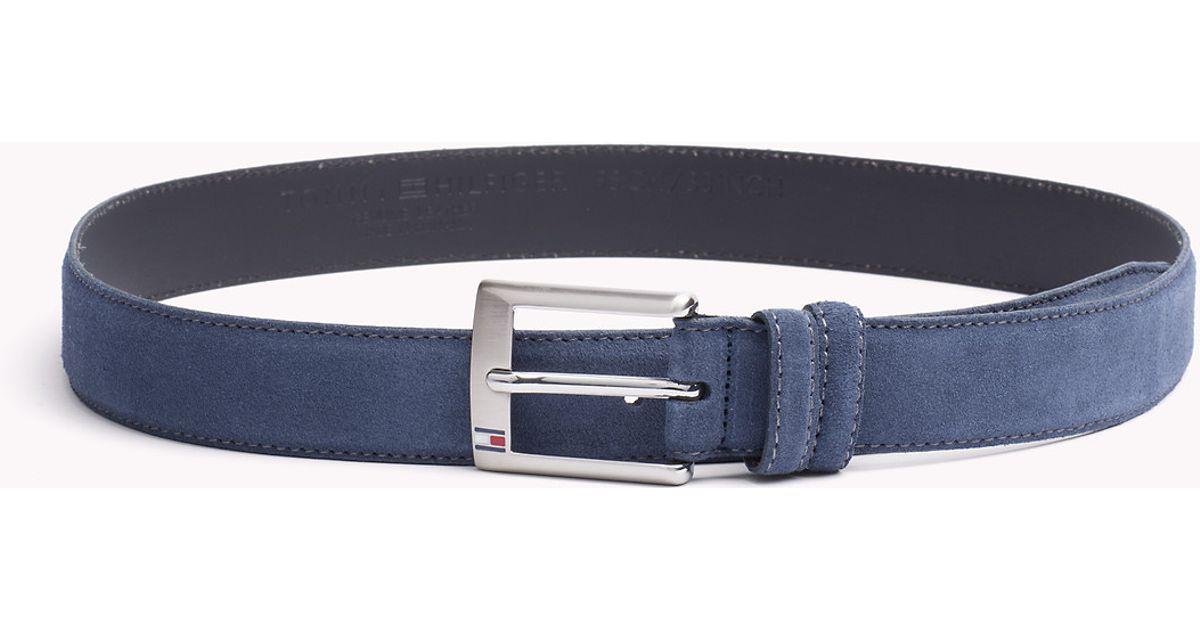 41b8101e104 Tommy Hilfiger Boston Belt in Blue for Men - Lyst