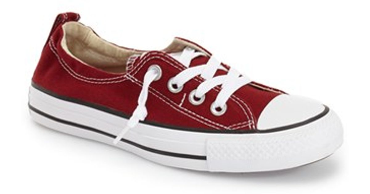 Lyst - Converse Chuck Taylor All Star  shoreline  Sneaker in Red 2aab94f92