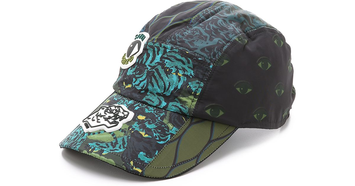 Lyst - KENZO Essentials Flying Tiger Cap in Black for Men 9bfad0b1ec5