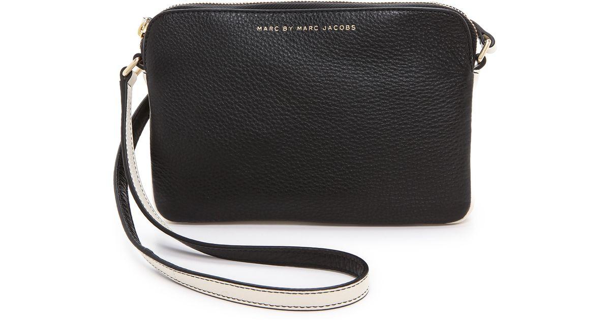 8d5c32bb6d5 Lyst - Marc By Marc Jacobs Sophisticato Dani Cross Body Bag Black Multi