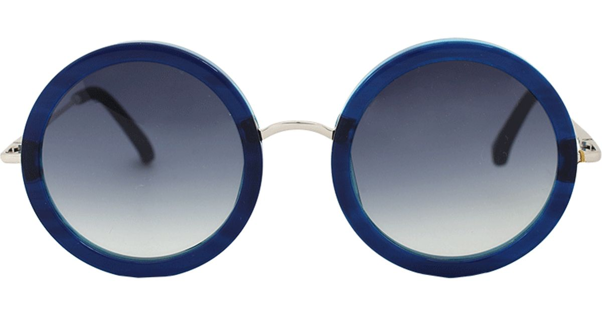 c2e5baecd1 Lyst - The Row Blue Imperial Acetate Sunglasses in Blue