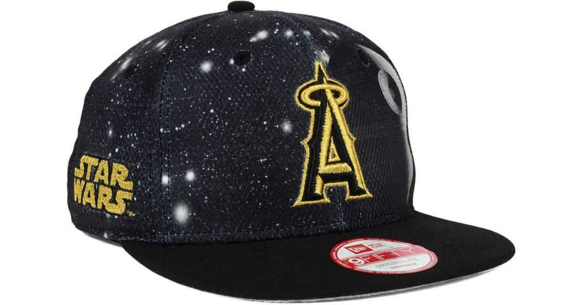 d6c5cad3bac7d ... best price lyst ktz los angeles angels of anaheim sw x mlb 9fifty snapback  cap in