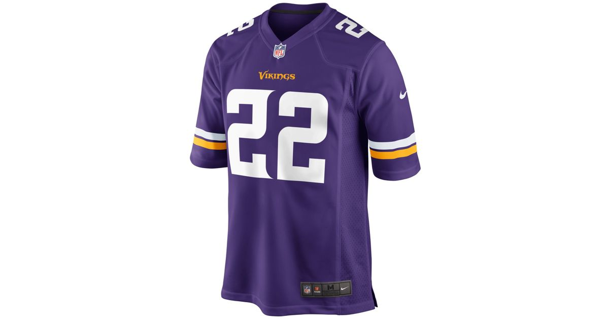 Cheap NFL Jerseys Wholesale - Mens Minnesota Vikings Harrison Smith Nike Purple Game Jersey