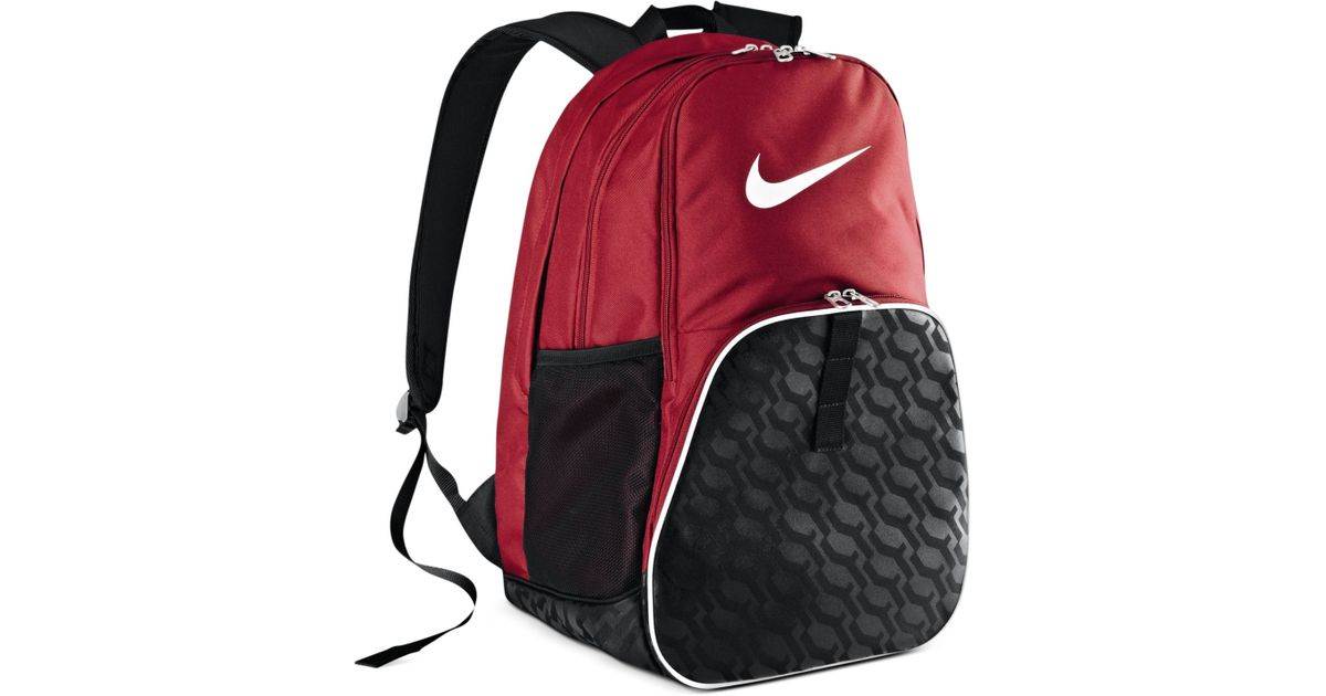 aa95e289b0 Lyst - Nike Brasilia 6Xl Backpack in Red for Men