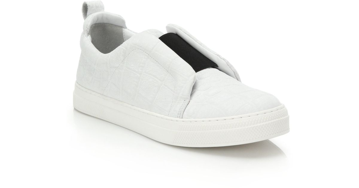 Leather slip-ons Pierre Hardy