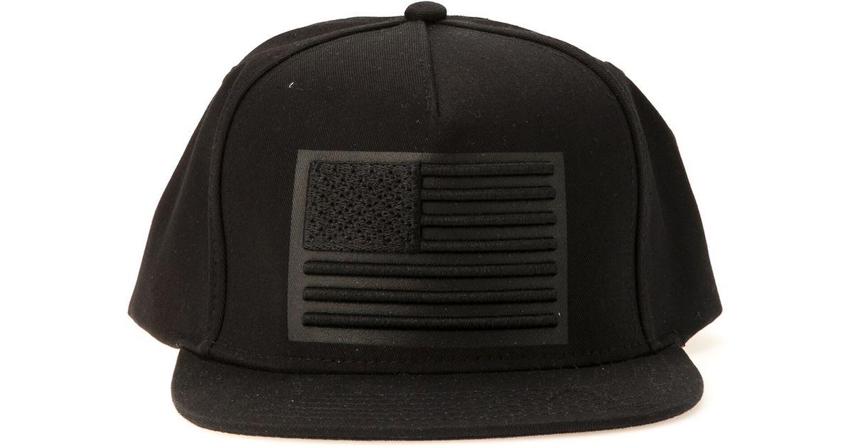Lyst - Stampd 3d American Flag Hat in Black for Men ba5945640