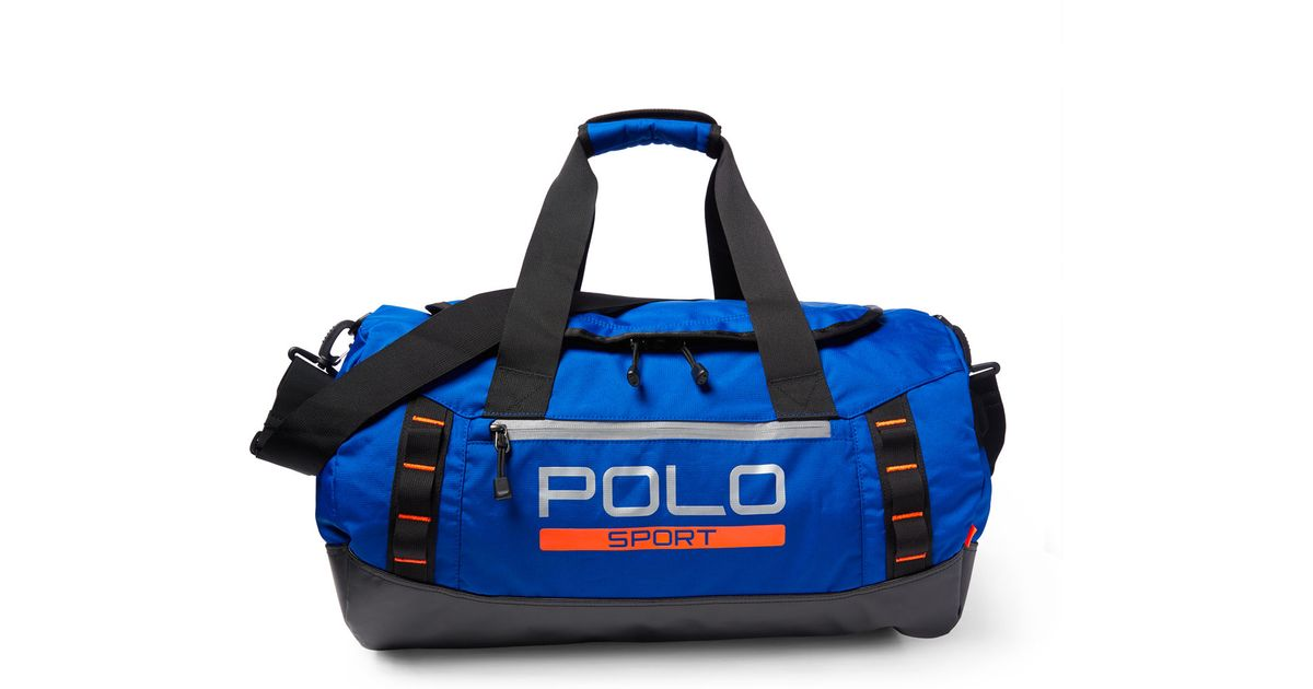 76a8fde7985 Pink Pony Nylon Ripstop Duffel Bag in Blue for Men - Lyst