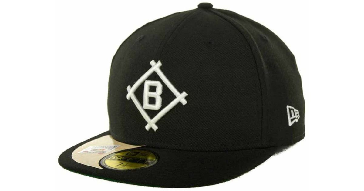 c356c994891 Lyst Ktz Brooklyn Dodgers Cooperstown Patch 59fifty Cap In Black