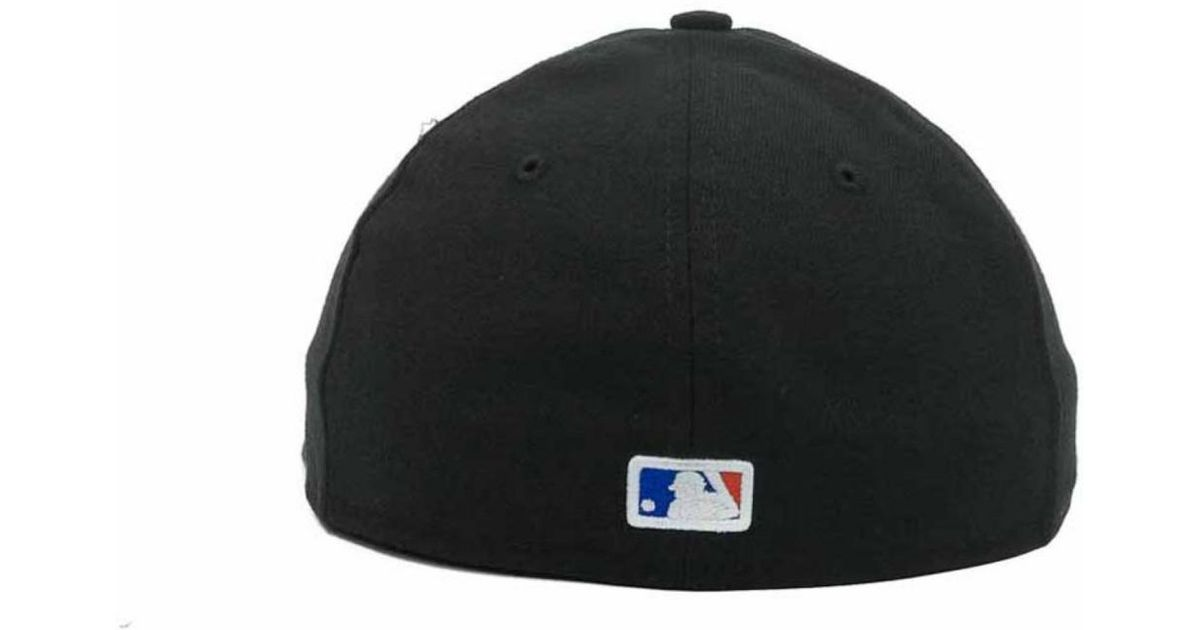 buy online a544d e6db5 ... cheap lyst ktz new york mets low crown ac performance 59fifty cap in  black for men