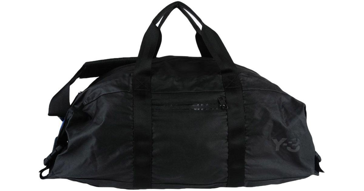 4eedca0d76 Lyst - Y-3 Travel & Duffel Bag in Black for Men