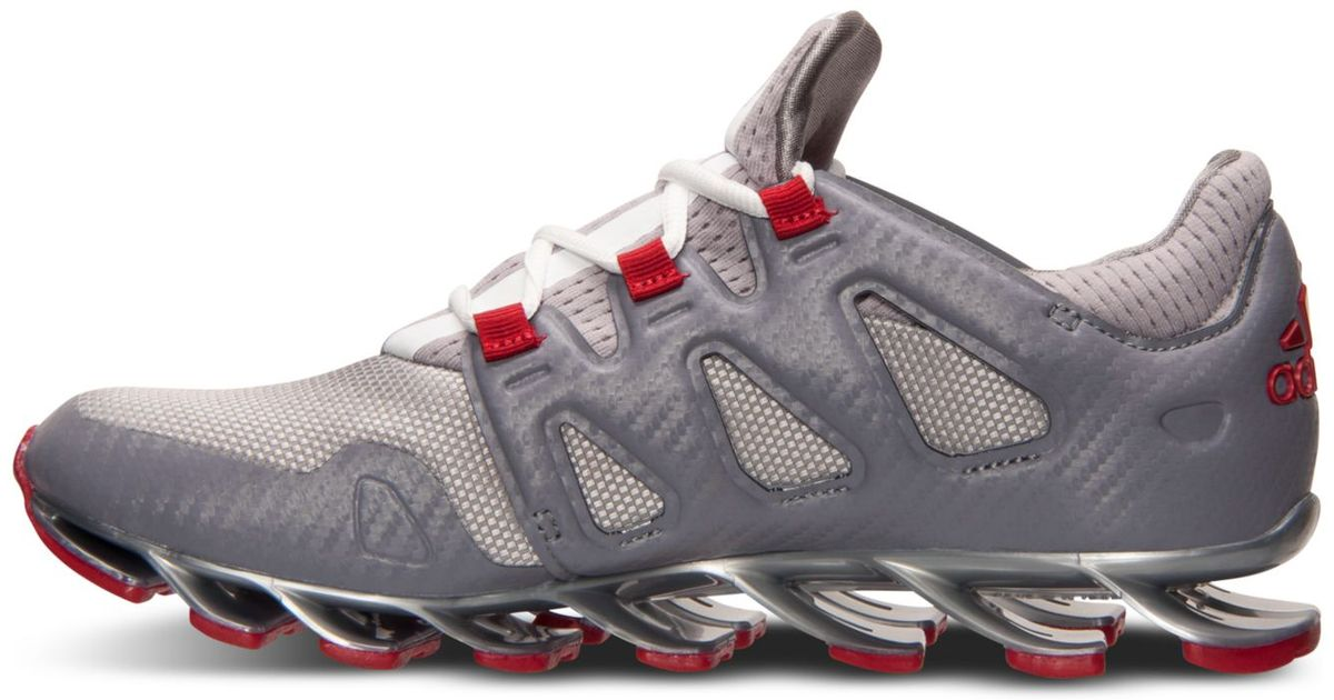Lyst - adidas Men s Springblade Pro Running Sneakers From Finish Line in  Gray for Men 4657529041c9