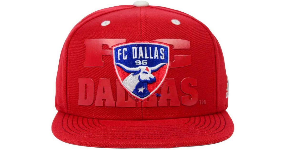 official photos 4f078 a6f13 ... hat image 4 08bf1 cef45  switzerland lyst adidas originals fc dallas  academy snapback cap in red for men 0fa69 15769