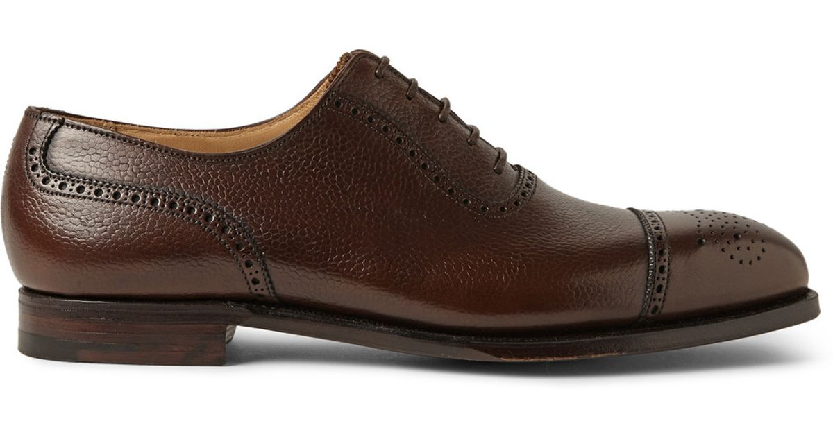 Grain Leather Adam Oxford Lyst Cleverley Pebble Brogues In George lK1JcTF