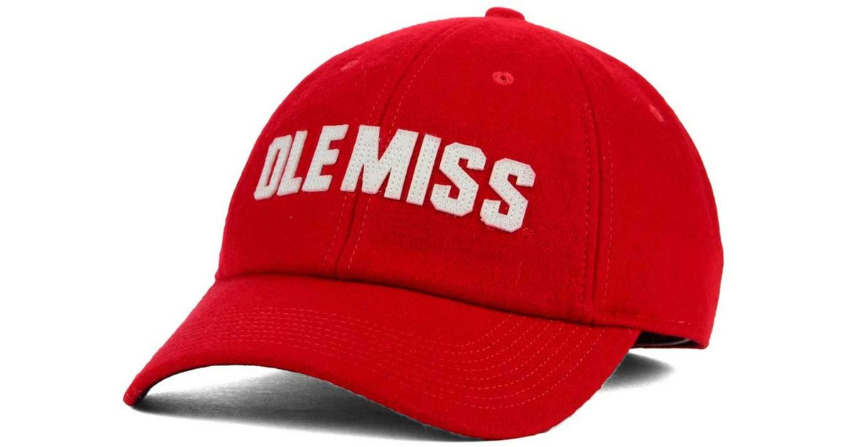 d708b503372ba Lyst - Nike Mississippi Rebels H86 Fitted Cap in Red for Men