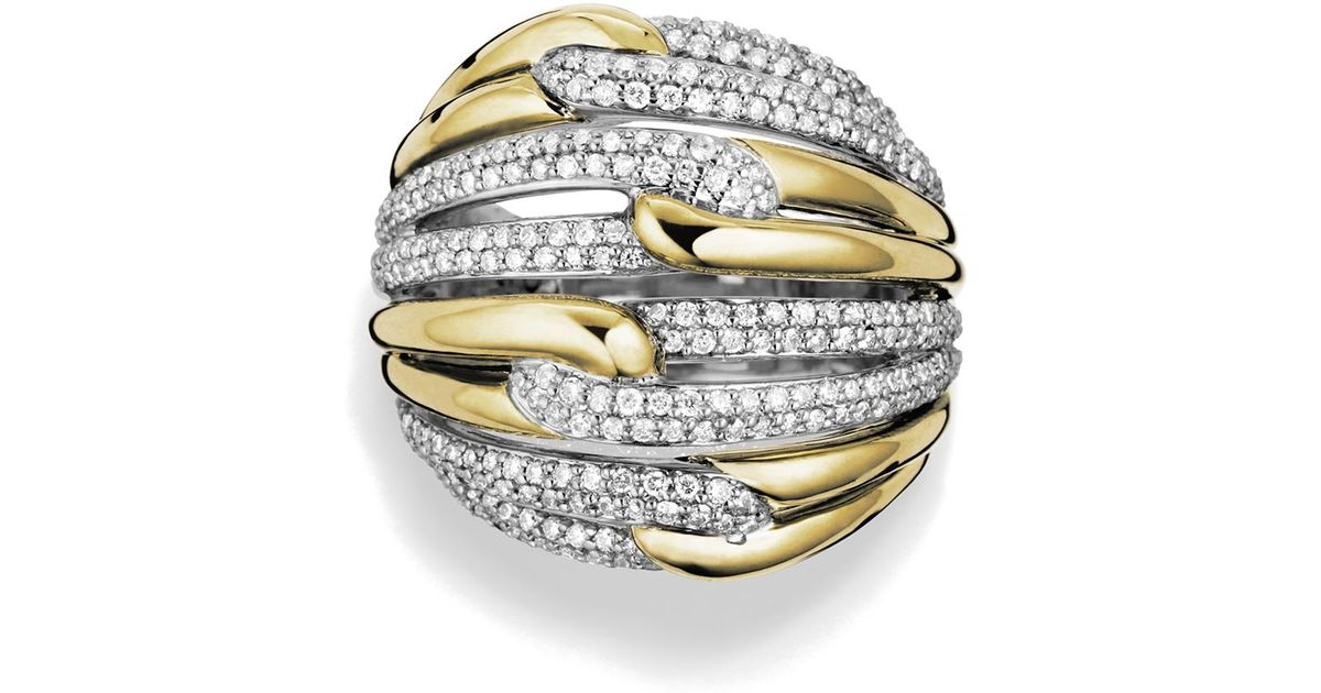 band consignment design with david llc pave diamond p yurman