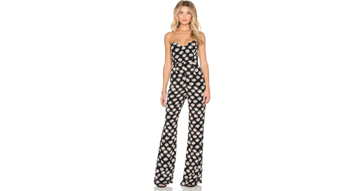 4bddd24e0619 Lyst - Stone Cold Fox Libra Jumpsuit in Black