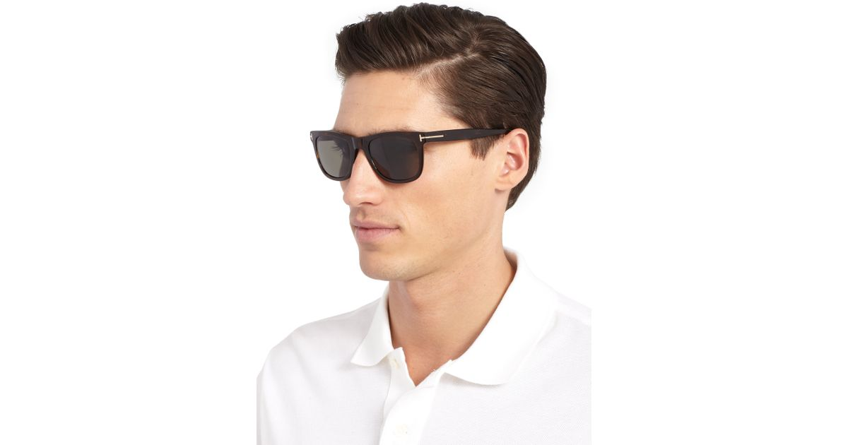 2d036db3eb4 Lyst - Tom Ford Havana Polarized Sunglasses in Black for Men