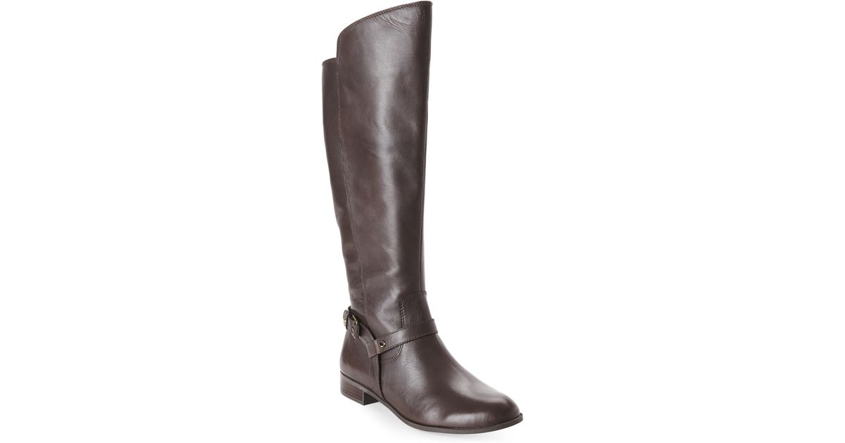 3106a9c9360 Anne Klein - Brown Kahlan Riding Boots - Lyst