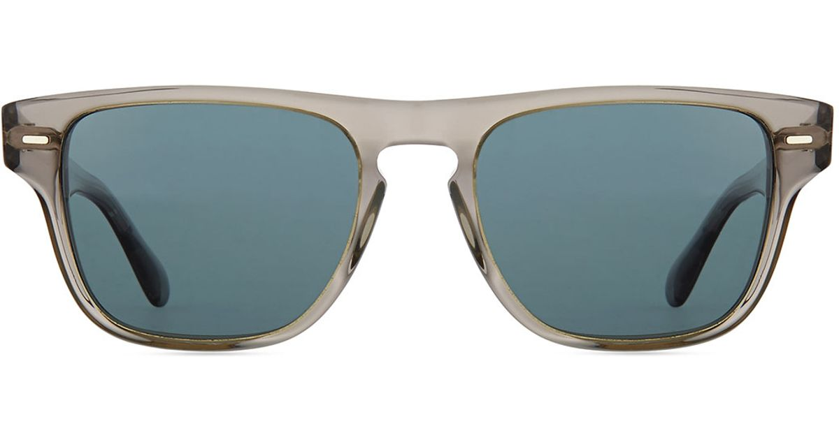 83cadc07e6 Lyst - Oliver Peoples Strathmore Vfx+ Polarized Square Sunglasses in  Natural for Men