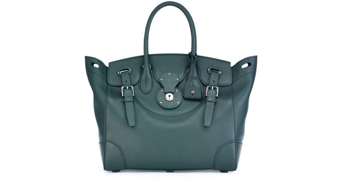 250c0c6706 Ralph Lauren - Green Soft Ricky Bag - Lyst