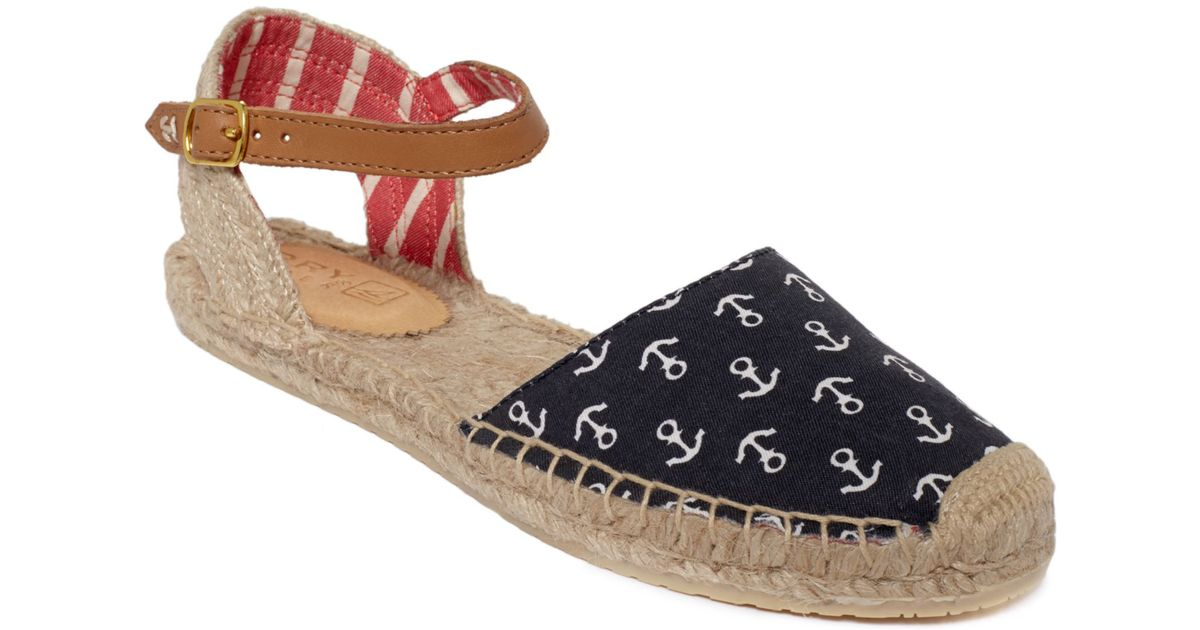 5c6132ae2ba Lyst - Sperry Top-Sider Hope Sandals in Blue