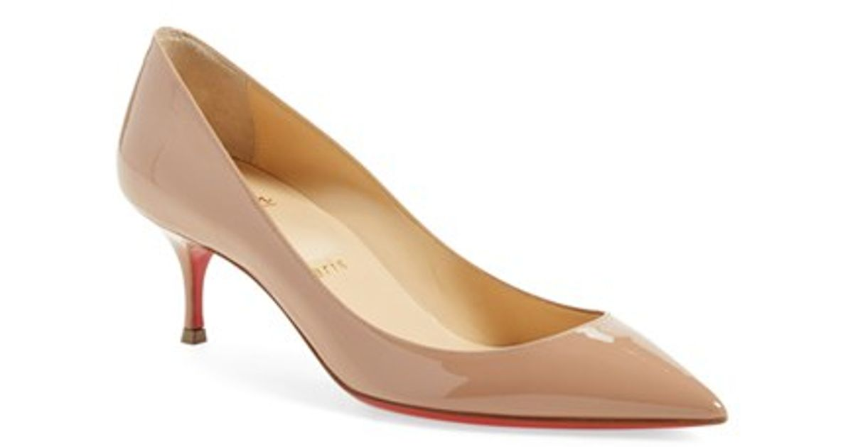 replica shoes louboutin - christian louboutin pigalle follies 55 leather pumps, louis ...