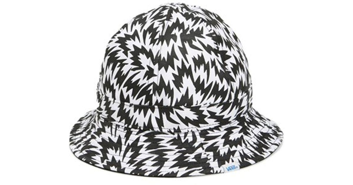 Lyst - Vans   X Eley Kishimoto - Montera  Reversible Bucket Hat in Black  for Men a2cb308481b