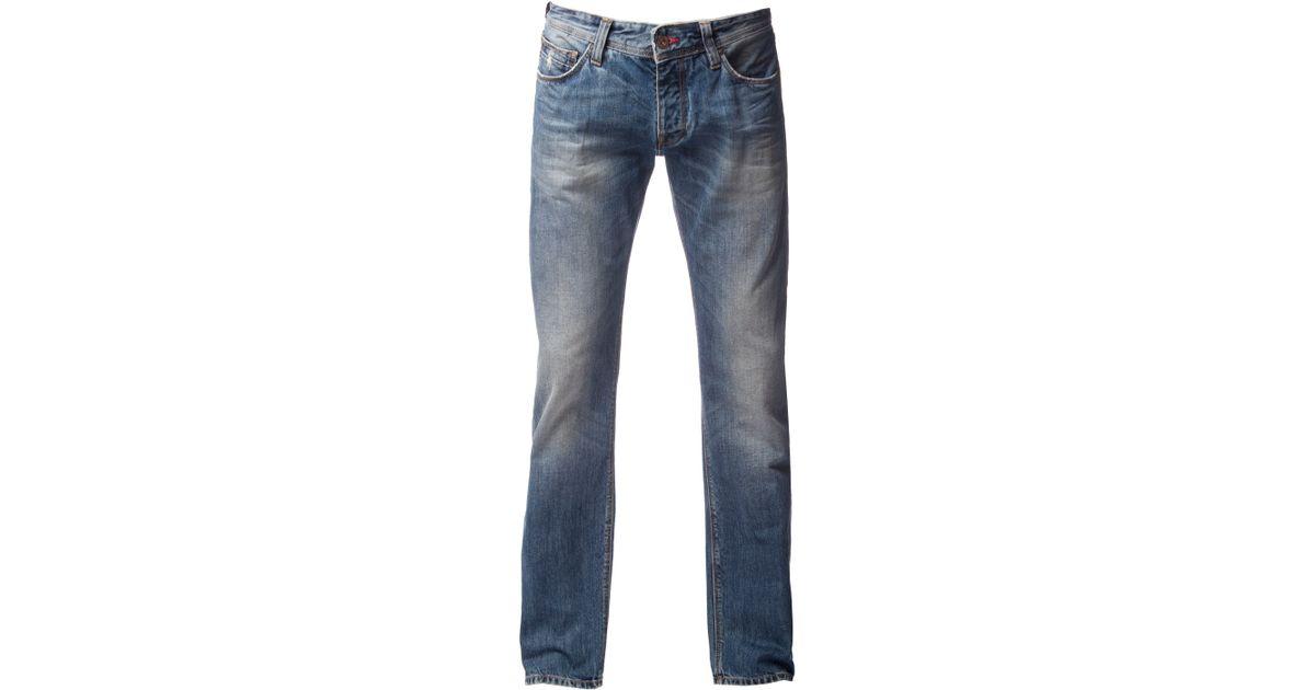 tommy hilfiger denton jeans in blue for men lyst. Black Bedroom Furniture Sets. Home Design Ideas