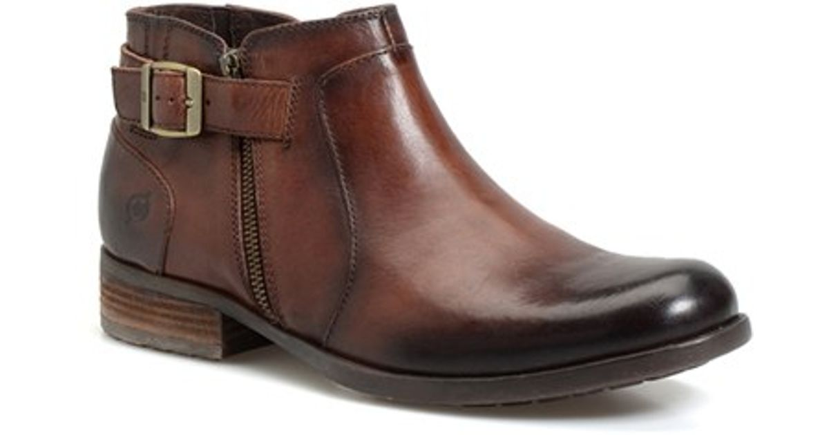 born b rn herbert chelsea boot in brown for lyst
