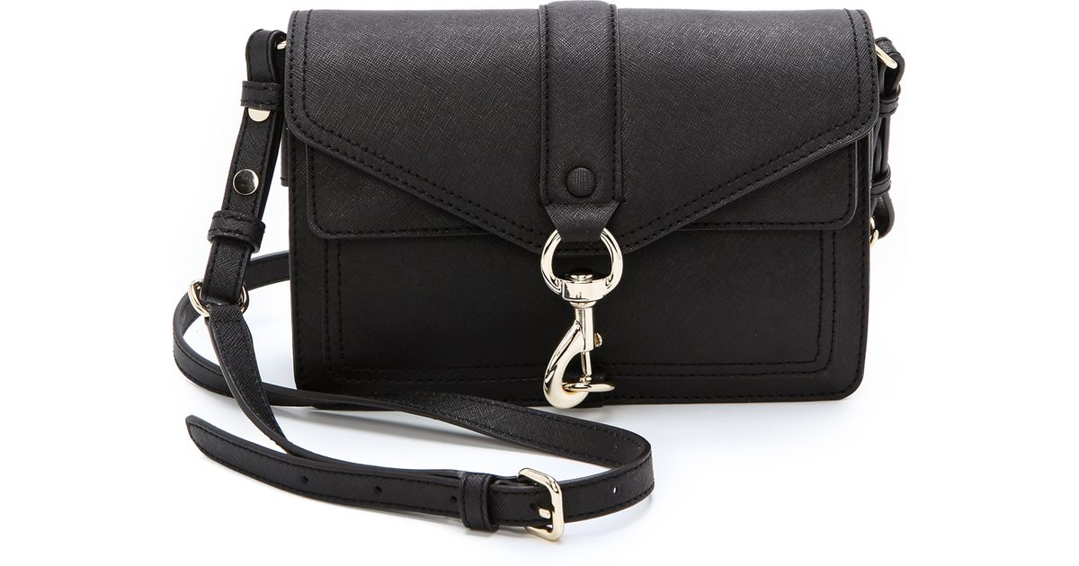 best cheap best fresh styles Rebecca Minkoff Black Mini Hudson Moto Bag