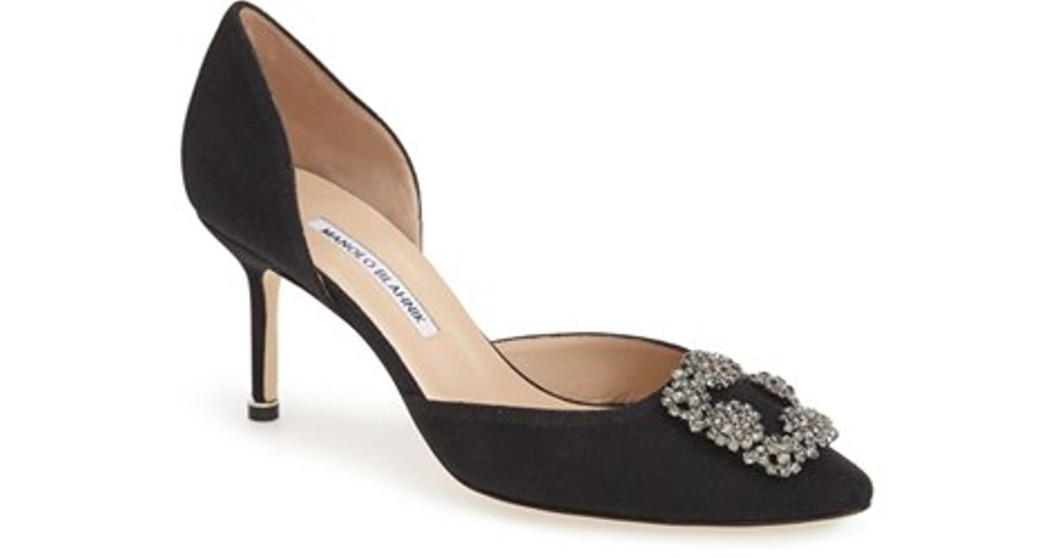 Manolo Blahnik Hangisi 70 Ornamented Pumps
