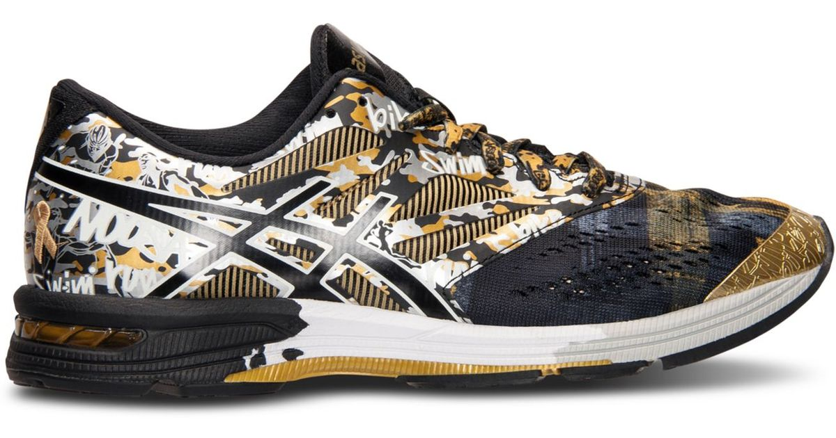 reputable site 47466 5ed52 Asics Men s Gel-noosa Tri 10 Gr Running Sneakers From Finish Line in Black  for Men - Lyst