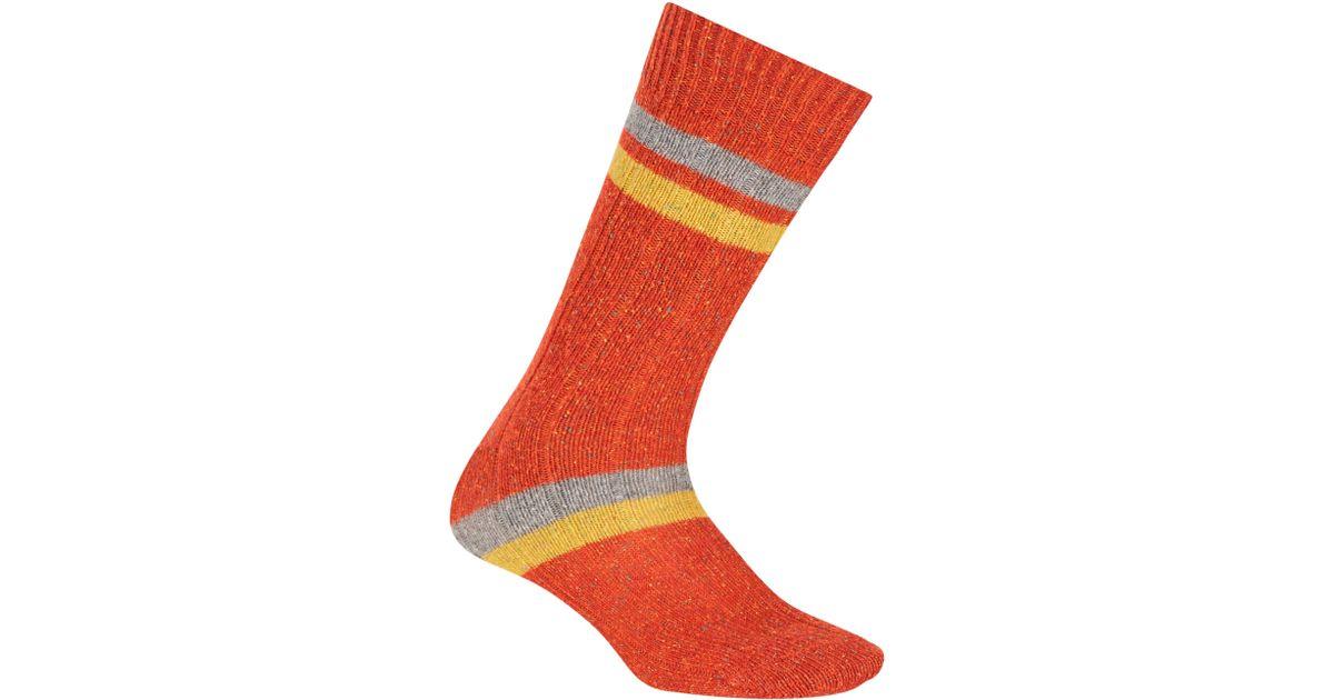 741f69ad3b4 John Lewis Irregular Stripe Silk Blend Socks for Men - Lyst