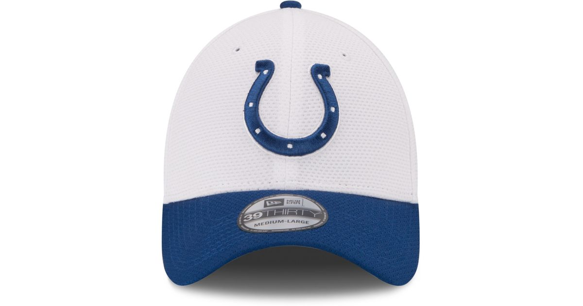 19d8c153600 Lyst - KTZ Indianapolis Colts Nfl 2015 Training 39thirty Cap in Blue for Men