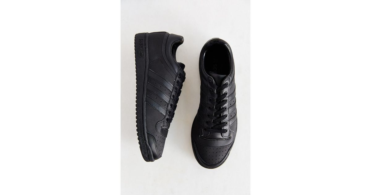 quality design 920e0 95cee adidas Originals Originals Top Ten Low Sneaker in Black - Lyst