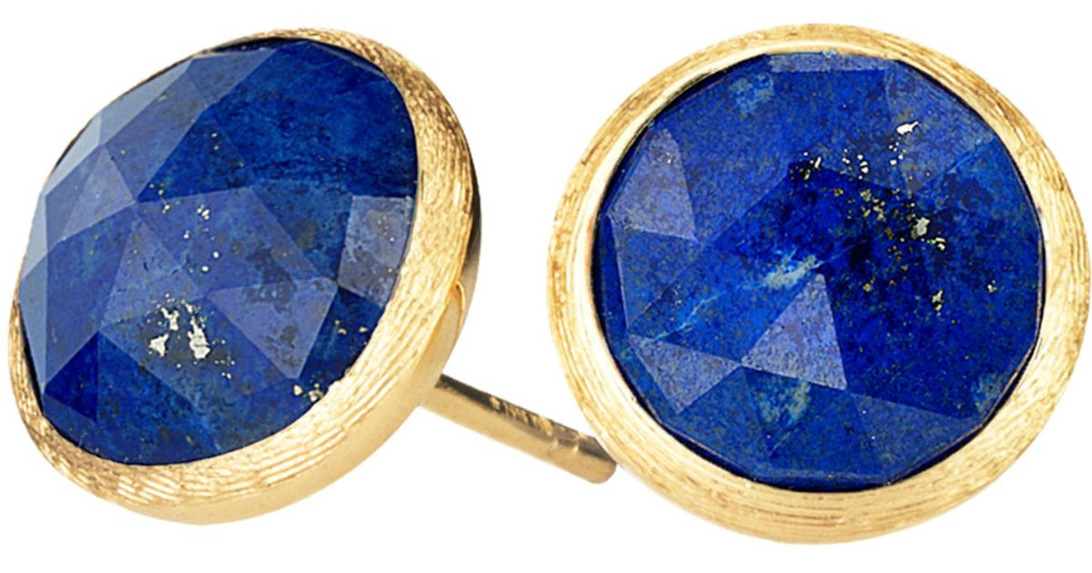 unique silver for stud cute women lapis earrings buy blue