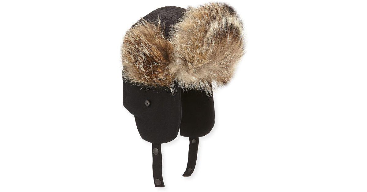 72169ef4d Moncler Fur Hat Mens
