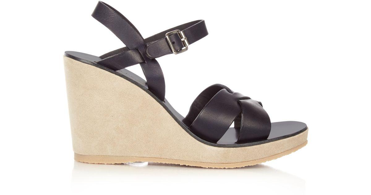 A.P.C. 'Juliette' sandals big sale online KlYCZI1sX1