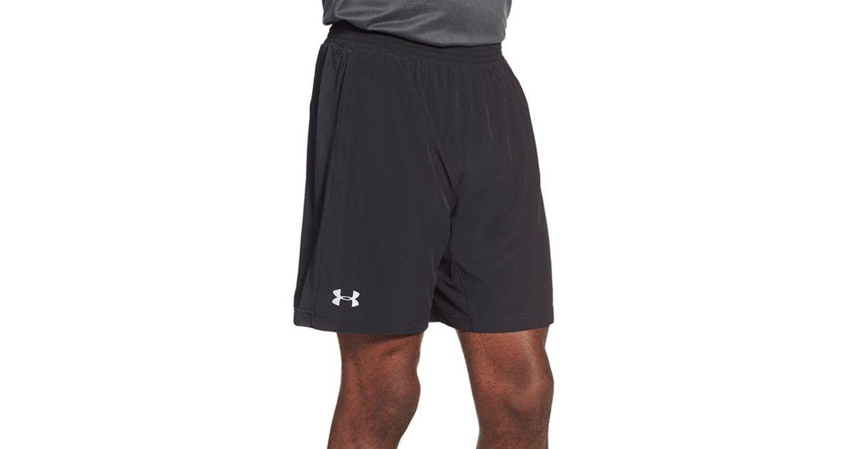 535bc67a2dd9f Under Armour 'launch 2-in-1' Heatgear Running Shorts in Black for Men - Lyst