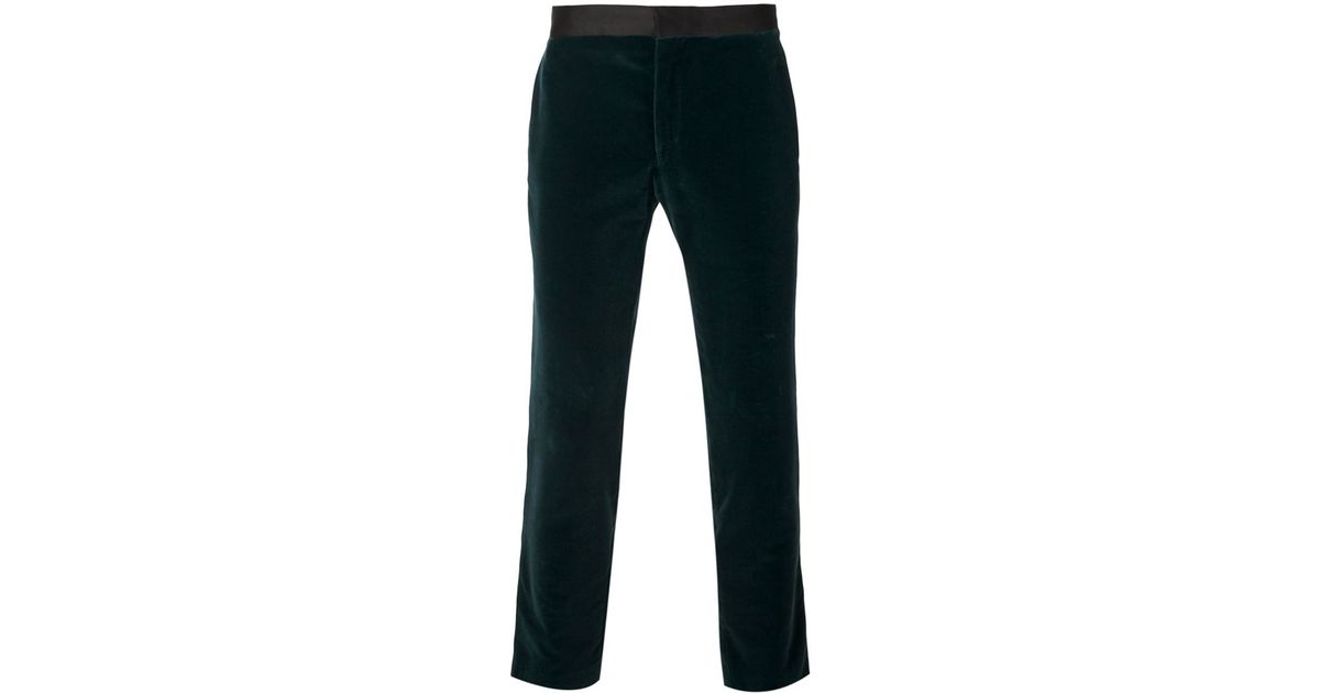 tailored fitted trousers - Green Haider Ackermann Inexpensive Shop For For Sale kX8Kp